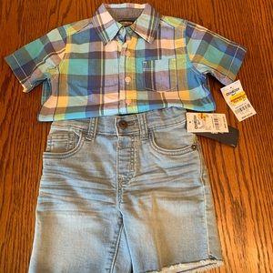 2 Brand new Oshkosh outfits